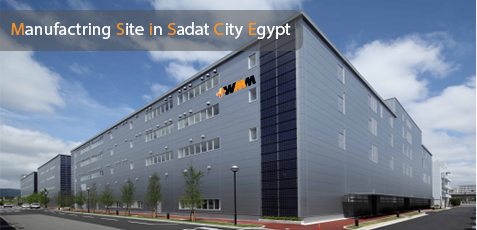 Manufactring Site in Sadat City Egypt